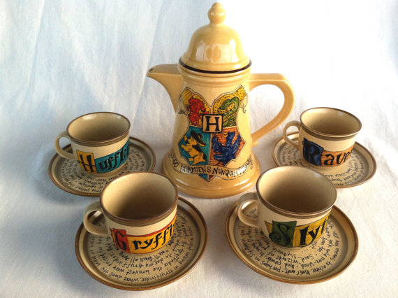 Hogwarts Tea Set