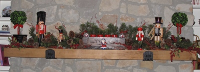 Nutcracker Mantle
