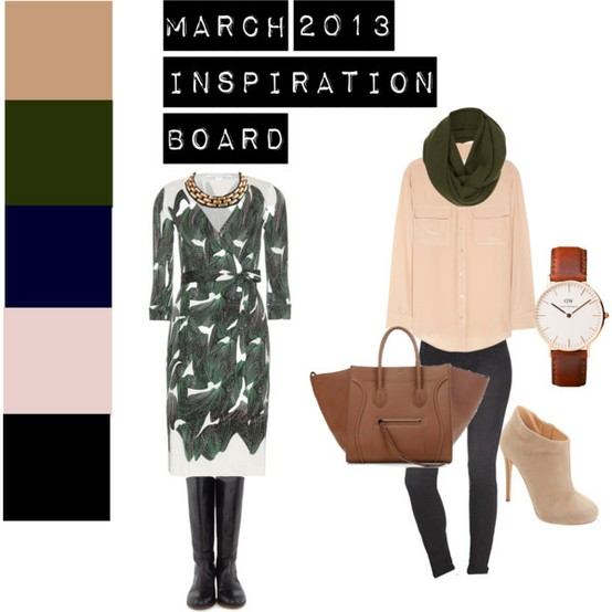 March 2013 Inspiration Board