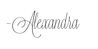 Alexandra signature