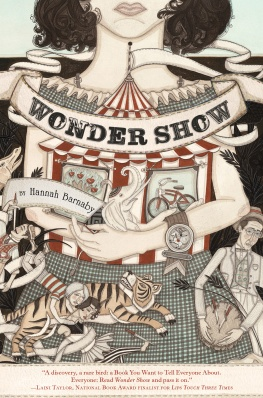 Wonder Show by Hannah Barnaby