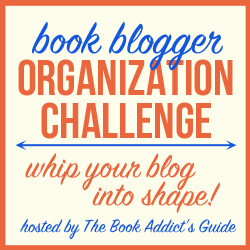 Book Blogger Organization Challenge