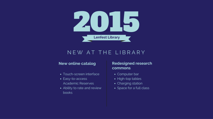 new at the library