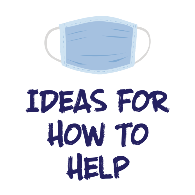 Ideas for how to help